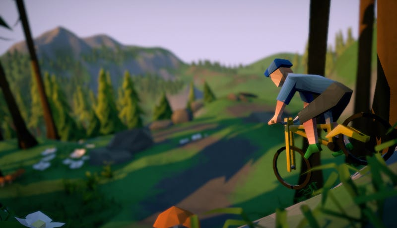 Lonely Mountains: Downhill is a mountain biking game that looks really chill.