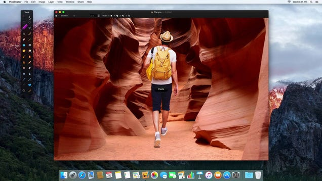 Pixelmator for Mac Adds New Selection Tools and Retouch Extension for Photos App