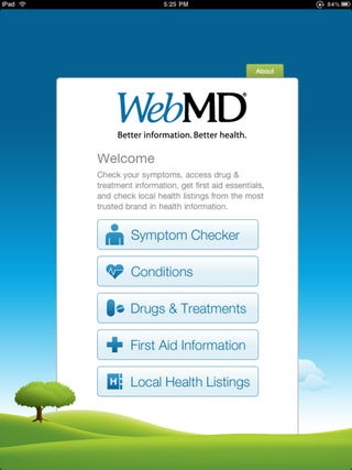 Illustration for article titled WebMD App Gallery