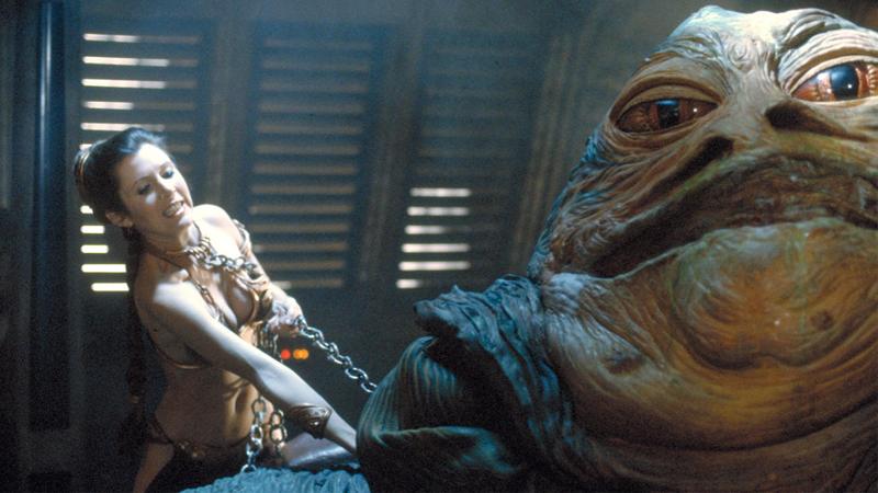 Illustration for article titled Carrie Fisher zanja de manera genial el estúpido debate sobre el bikini de la princesa Leia
