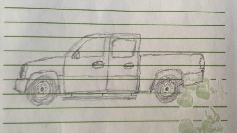 Illustration for article titled A sketch