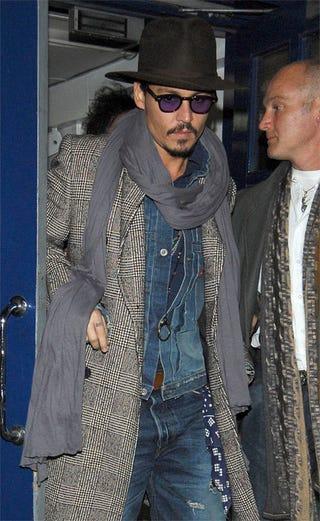 Illustration for article titled Here's Johnny (Depp)