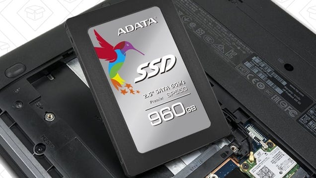Uh, Holy Crap, This 960GB SSD Is Down To $188