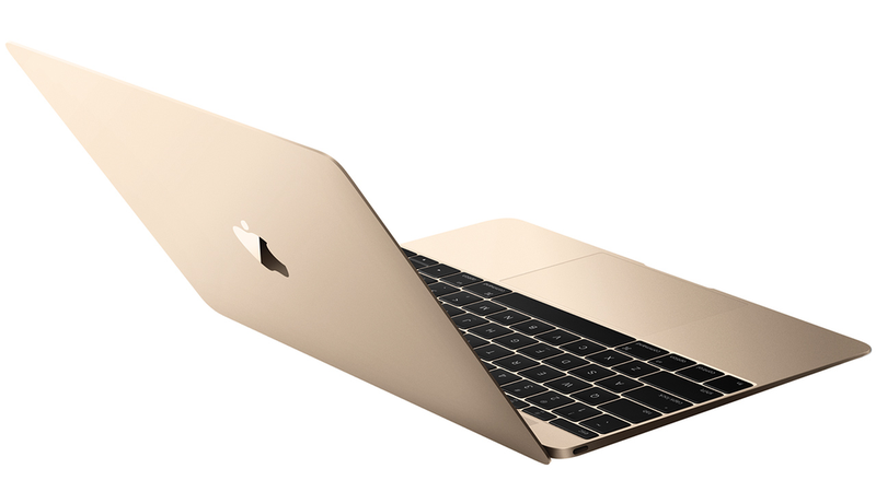 golden macbook