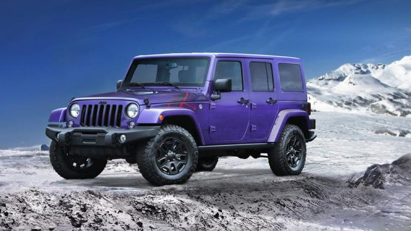 Illustration for article titled It's All That! Jeep Unveils 90s-Looking Wrangler. Talk To The Hand!
