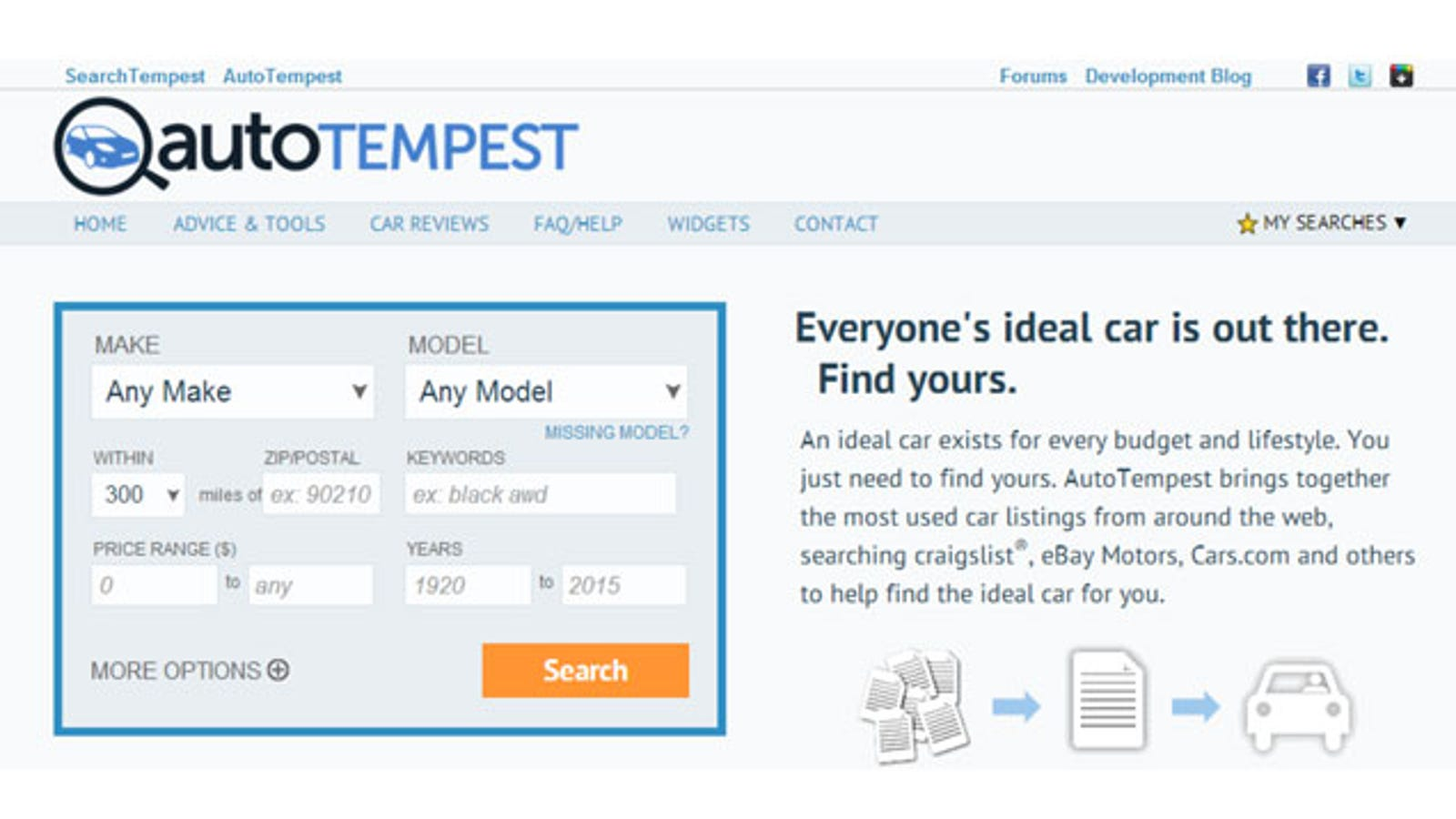 AutoTempest Updates with More Ways to Find Used Cars Online