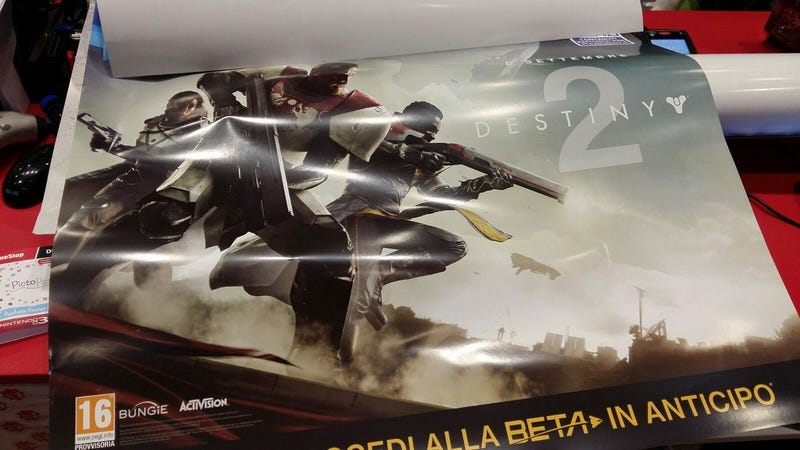 Illustration for article titled Leaked Image Gives A First Look At Destiny 2, Out This September