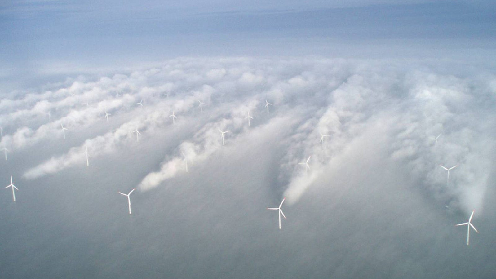 Las turbinas eólicas podrían servir para disolver huracanes