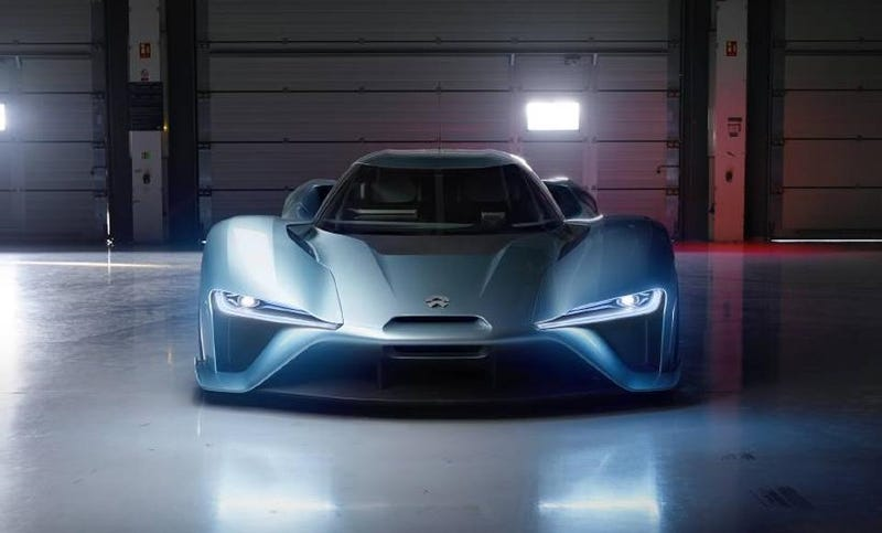The Latest 200 MPH Supercar Is Completely Electric