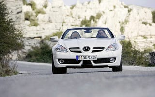 Remember Those Photos Of The 2009 Mercedes Benz SLK We Showed You  Yesterday? Theyu0027re Real. Seriously. Touch Them. We Donu0027t Mind.