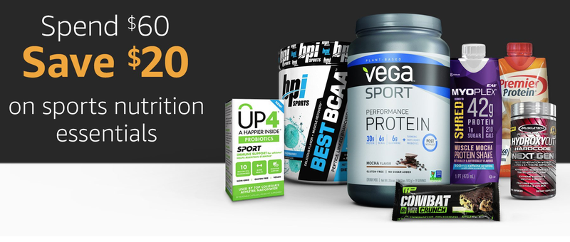 $20 off $60 Supplement Purchases