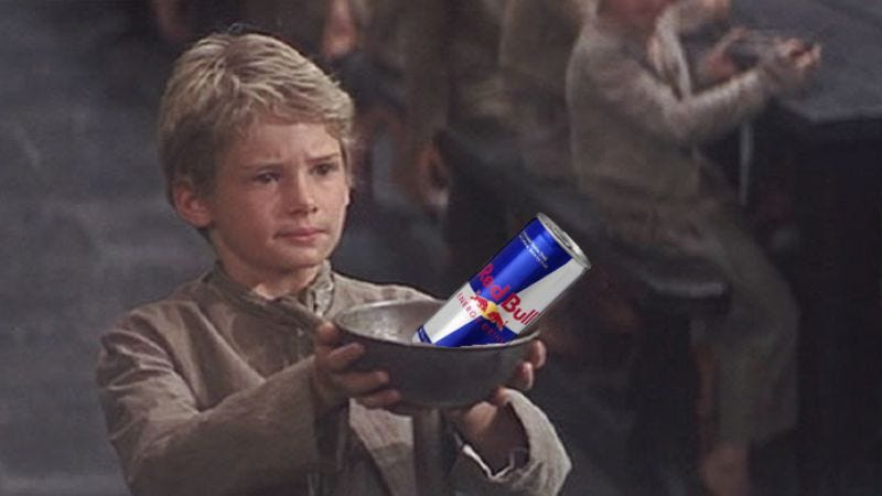 "Illustration for article titled Red Bull will give Oliver Twist its ""3-D parkour action movie"" wings"