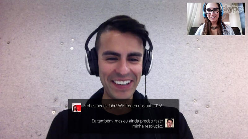 Illustration for article titled Skype Translator Is Now Available in the Main Skype App
