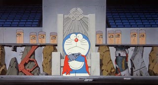 Illustration for article titled Doraemon Meets Akira In This Bleak Vision of the Future
