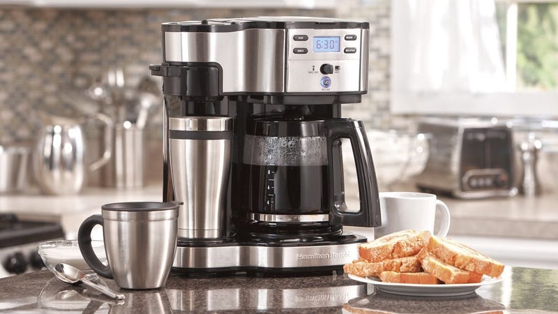 Refurb Hamilton Beach FlexBrew Coffeemaker, $35