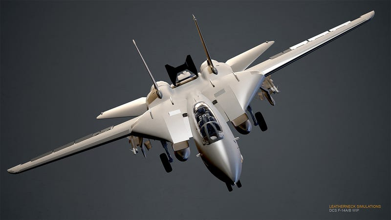 Illustration for article titled F-14 Tomcat In The Works For The Most Elaborate Air Combat Sim Ever