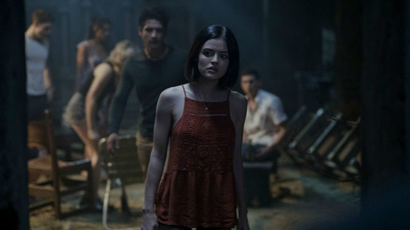 Lucy Hale does a very bad thing in Truth or Dare.