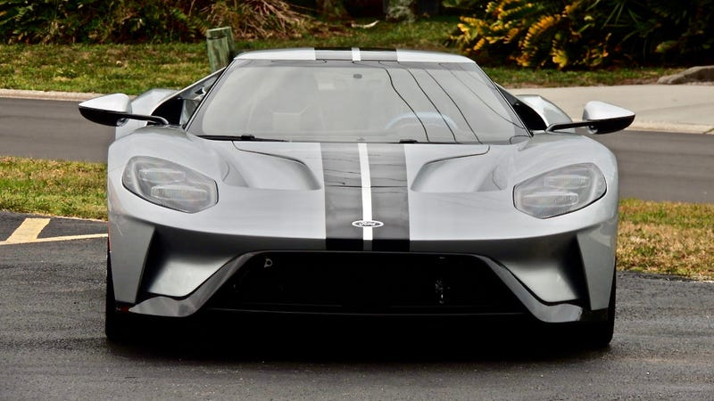 Illustration for article titled Ford and Mecum Auctions Settle Lawsuit Over $1.7 Million Resale of Ford GT