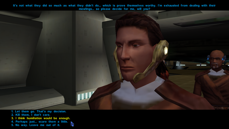 How Knights Of The Old Republic Pulled Off A Voice-Acting