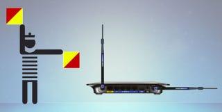 Illustration for article titled Esta es la mejor manera de alinear las antenas de tu router WiFi