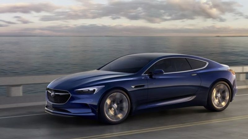 the buick avista concept is a badass 400 hp rwd luxury muscle car. Black Bedroom Furniture Sets. Home Design Ideas