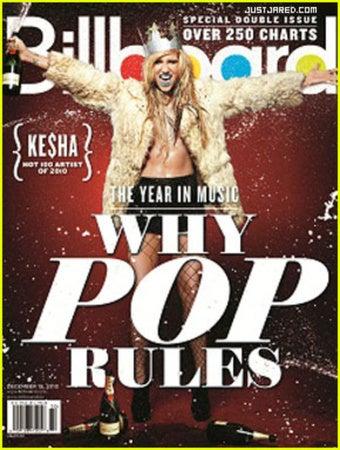 Illustration for article titled Ke$ha Won 2010, Says Billboard