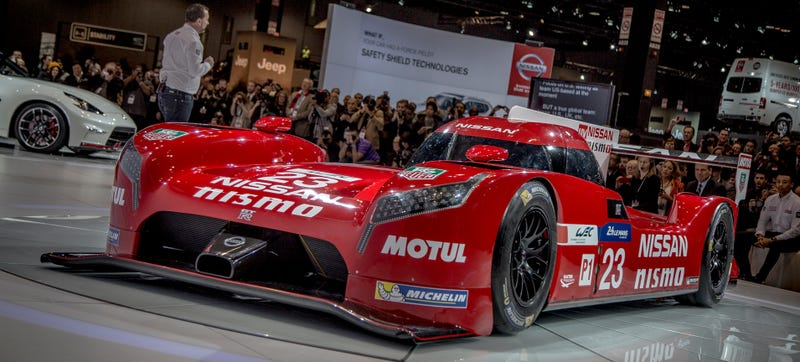 Illustration for article titled A Gratuitous Gallery Of The Nissan GT-R LM NISMO Le Mans Prototype