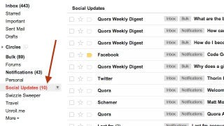 Illustration for article titled Gmail Adds Smart Labels to Filter Away Your Social Junk