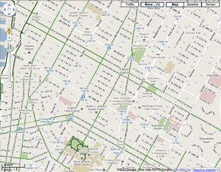 Illustration for article titled Google Maps Gets Bike Lanes/Directions Just In Time for Spring