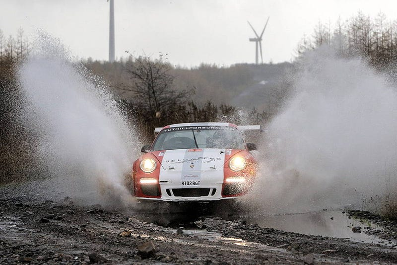 Illustration for article titled Porsche 911 RGT will not start Rally GB because FIA hates fun