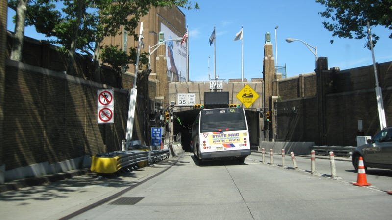 Multiple Injuries Reported After Buses Collide In New York