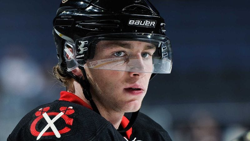 Illustration for article titled Patrick Kane No Longer Able To Play With Blackhawks After Dad Gets New Job In Boise