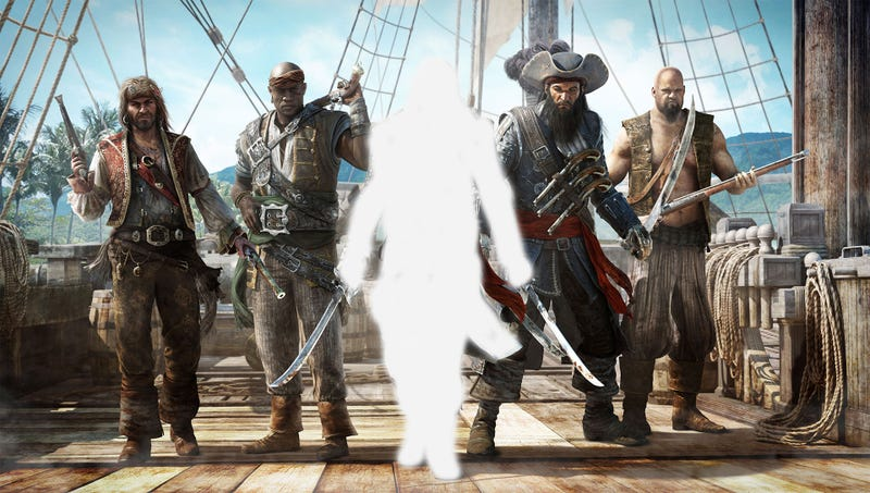 Illustration for article titled Ubisoft Survey Ponders An Assassin's Creed-Free Pirate Franchise [Update]