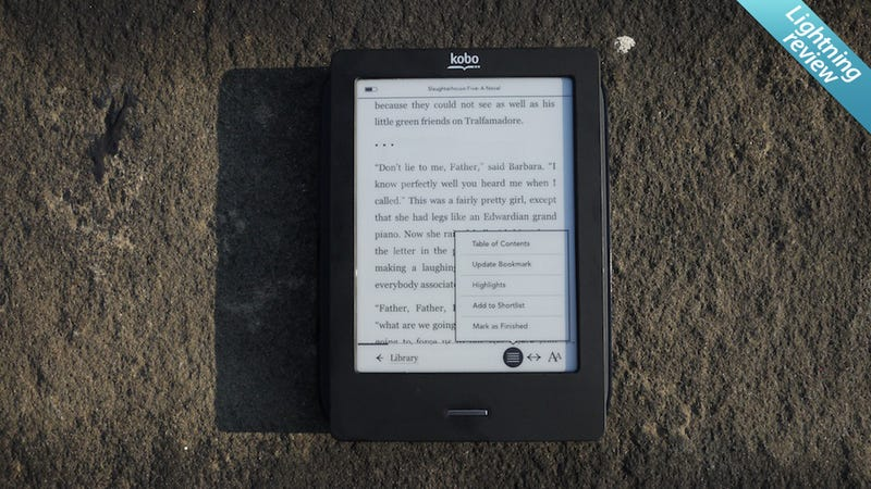Illustration for article titled Kobo Touch E-Reader: You'll Want to Love It, But...