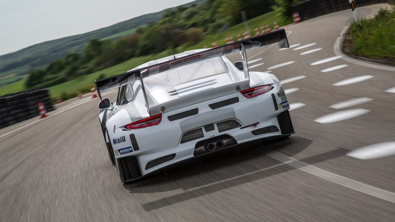Illustration for article titled The New Porsche 911 GT3 R Is Coming To Dominate Race Tracks Near You