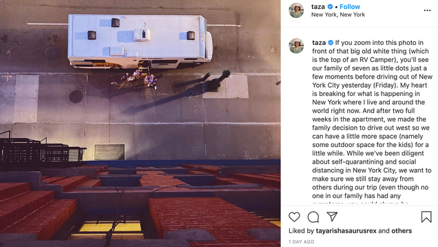 Influencers Are Social Distancing by Ignoring Lockdown Orders and Embracing #Vanlife