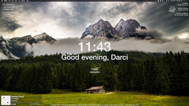 The Momentum Inspired Desktop