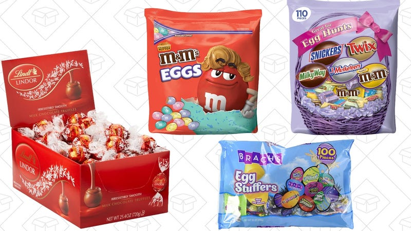 Easter Candy Gold Box