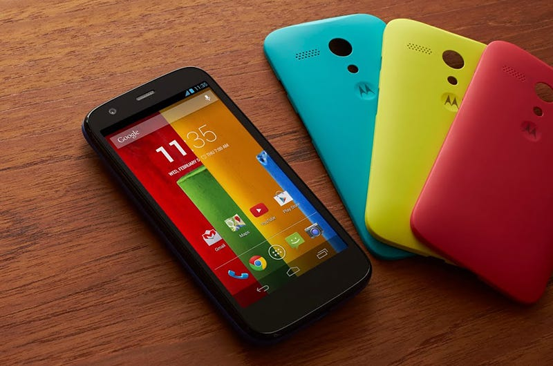 Illustration for article titled Google vende Motorola a Lenovo por 2.910 millones de dólares