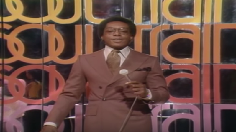 Don Cornelius in Soul Train