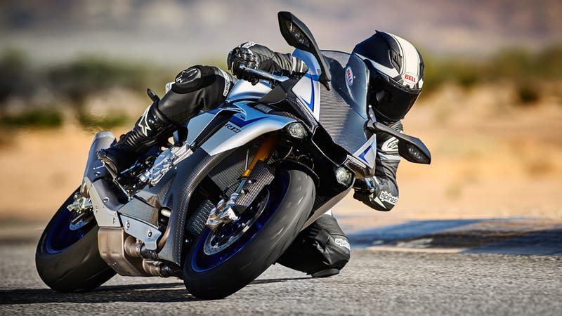 Illustration for article titled The Yamaha YZF-R1 M Is The Closest You'll Get To Rossi's Ride