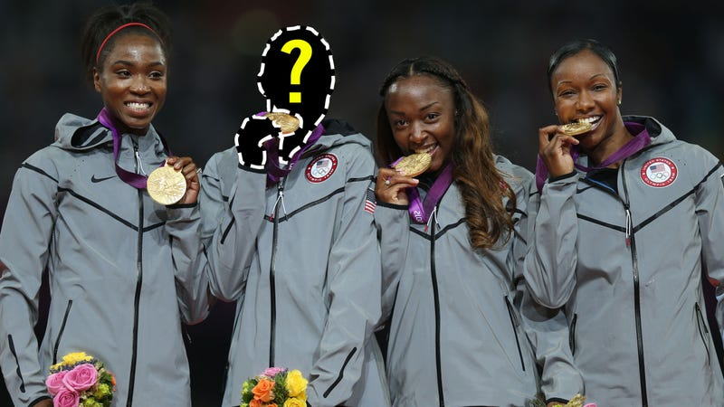 Illustration for article titled Jeneba Tarmoh Jobbed Again, Did Not Race In 4x100 Relay Final