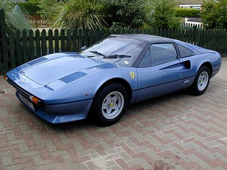 Illustration for article titled Blue is the only proper color for a Ferrari (more evidence inside)