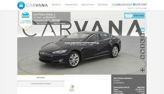 Illustration for article titled First Ever CPO Tesla Model S For Sale (Update)