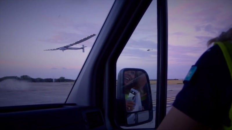 Imágenes: Solar Impulse