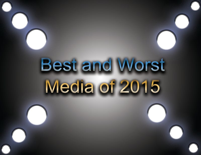 Illustration for article titled The Best and The Worst Media of 2015