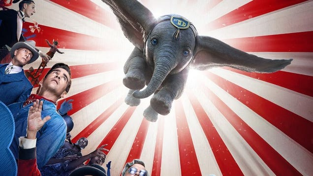 The New Trailer for Disney s Live-Action Dumbo Will Pretty Much Rip Your Heart to Shreds