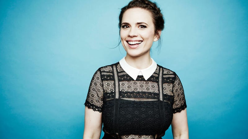 Hayley Atwell at the Television Critics Association summer press tour