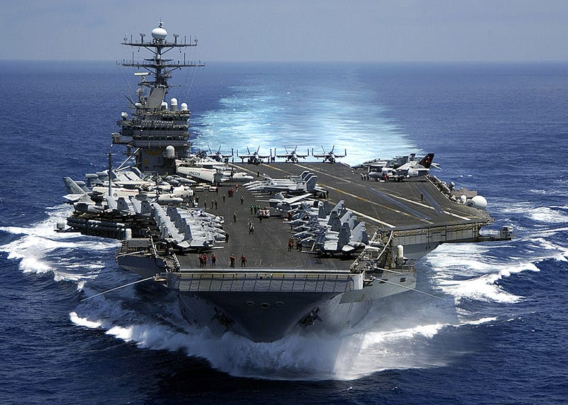 This Map Answers The Question Where Are The Aircraft Carriers - Us aircraft carrier locations map