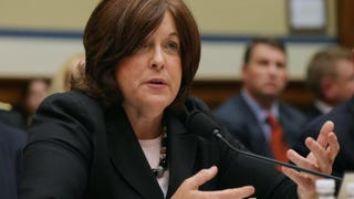 Secret Service Director Julia Pierson testifies to the House Oversight and Government Reform Committee about the White House perimeter breach during a hearing in the Rayburn House Office Building Sept. 30, 2014, in Washington, D.C.Chip Somodevilla/Getty Images
